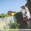 Des amoureux à Oingt-en-Beaujolais