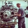 Centre Porsche Dijon : l'atelier de mécanique